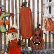 ストック写真: Handmade Fall Crafts