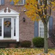 Inviting Autumn Home - Foto Stock