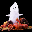 Fall Halloween Ghost — Lizenzfreies Foto