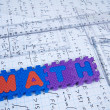 Math Education - Foto Stock
