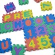 Preschool and Numbers — Stockfoto