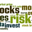 Stock Photo: Equities Stocks Risk