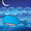 Whale illustration - Photo