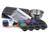 Baking supplies — Stock Photo