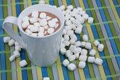 Kop warme chocolademelk — Stockfoto