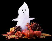 Fall Halloween Ghost — 图库照片