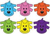 六つの子犬 — ストック写真