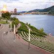Stock Photo: Pittsburgh Early Evening