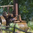 Antique Steam Roller — Stock Photo
