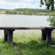 Stock Photo: wooden table