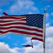 American flag. - Stock Photo