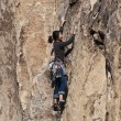 Female rock climber. — Stock Photo #5939064