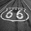 Stock Photo: Historic Route 66.