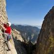 Rock climber — Stock Photo #6411274