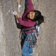 Female rock climber. — Stock Photo #6422959