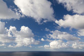 Sky and sea — Stock Photo