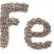 Stock Photo: Lentils, symbolic iron food