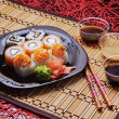 Stock Photo: Sushi set
