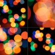 Set of bokeh sparkles. — Stock Photo #6196360