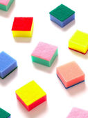 Sponge scouring pads — Stock Photo