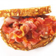 Royalty-Free Stock Photo: Bacon sandwich