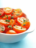 Salade de tomates — Photo