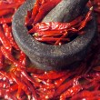dried red chilies — Stock Photo #5943097