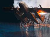 Crash landing — Stock Photo