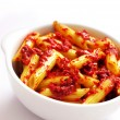 Stock Photo: Penne in tomato sauce