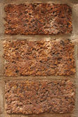 Three red bricks — Stock Photo