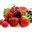 Various types of fruit - Stock Photo