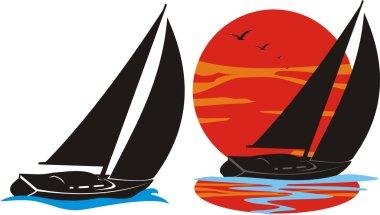 simple sailboat silhouette 3148458 - ilug-cal