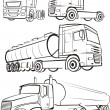 Truck & lorry - Stock Vector