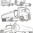 Truck & lorry — Stock Vector #5647177