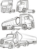 Truck & lorry — Stock Vector