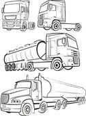 Truck & lorry — Stock Vector