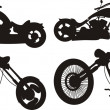 Motorcycle silhouette — Stock Vector #5688747