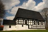 Framework church — Stock Photo