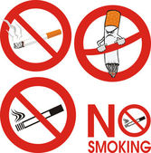 No smoking - sign — Stock Vector