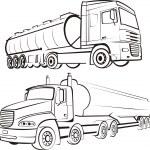 Lorry, track, tir — Stock Vector #5779252