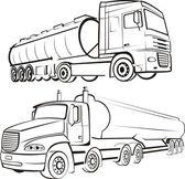 Lorry, track, tir — Stock Vector