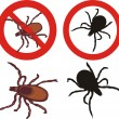 Stock Vector: Tick - sign