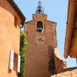 Roussillon - church tower — Stock Photo