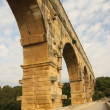 Pont du gard - arch — Stock Photo