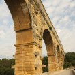 Pont du gard - arch - Stock Photo