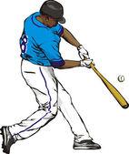 Beyzbol — Stok Vektör