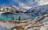 Big Almaty Lake — Stock Photo