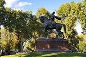 Amir Timur statue in Tashkent — Stock Photo