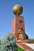 Mother Statue in Tashkent — Stock Photo