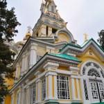 Zenkov Cathedral in Almaty — Stock Photo